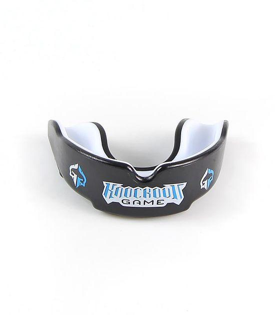 Front view of a Ground Game Knockout Game Kids Mouth Guard