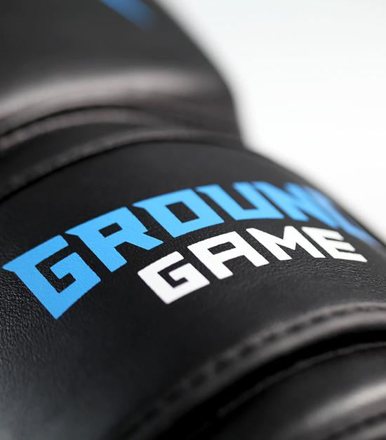 Details of a Ground Game Logo Boxing Gloves
