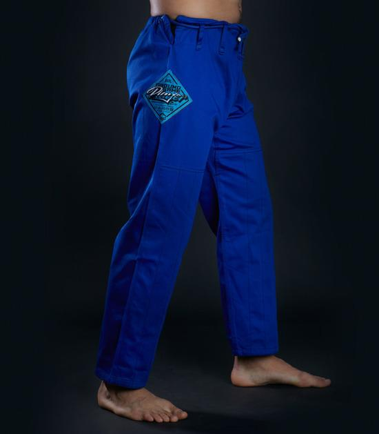 Pants of a Ground Game Player BJJ Gi Blue
