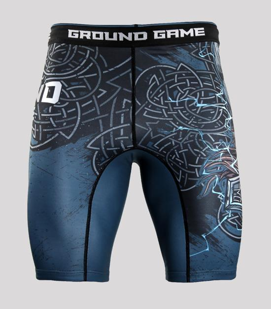 Front view of a Ground Game Thor Vale Tudo Shorts