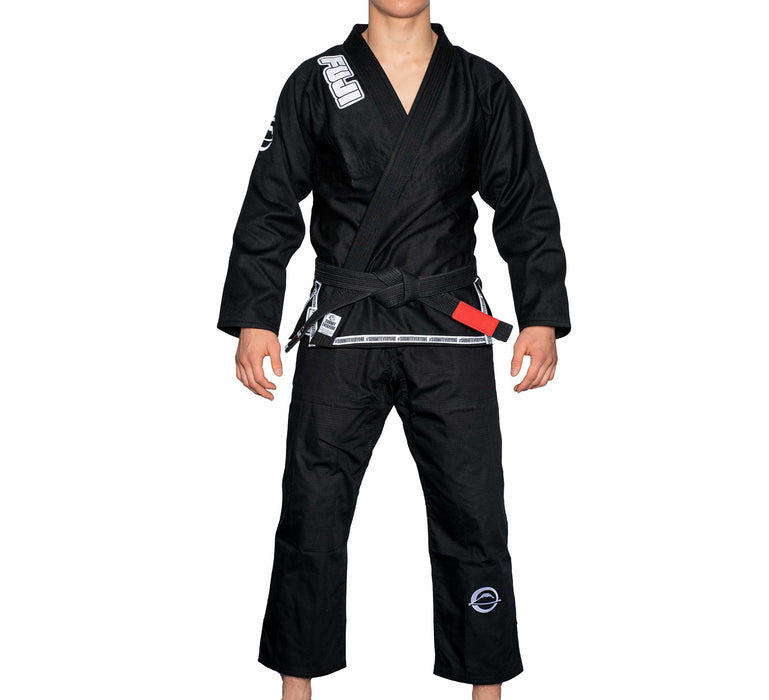 fuji frauen submit everyone bjj gi schwarz front