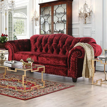 Load image into Gallery viewer, Crimson Glam Sofa