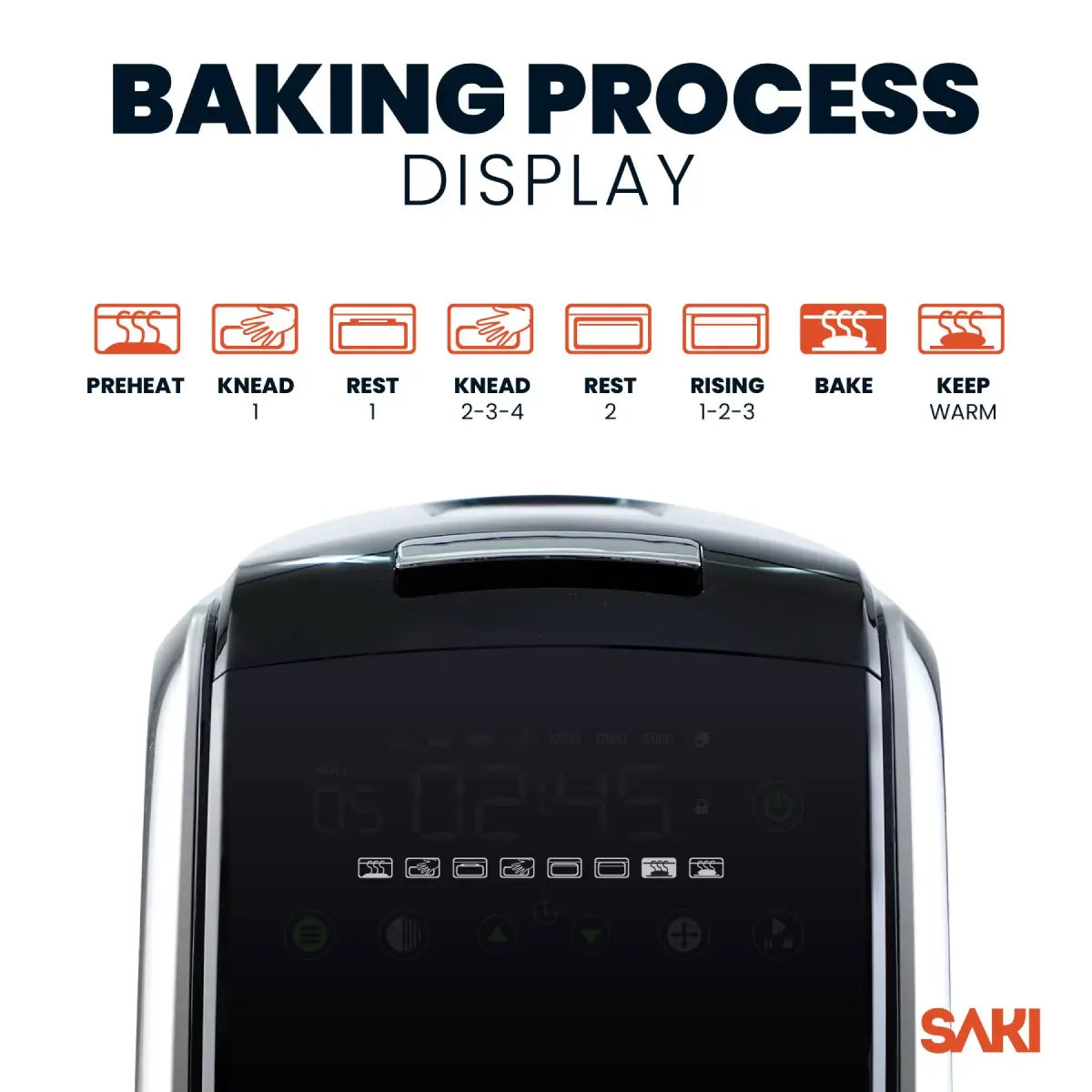 Baking Process Display