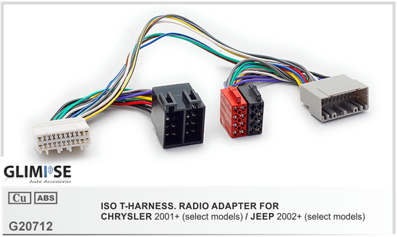 CHRYSLER 2001+ (select models) / JEEP 2002+ (select models) ISO T-Harness