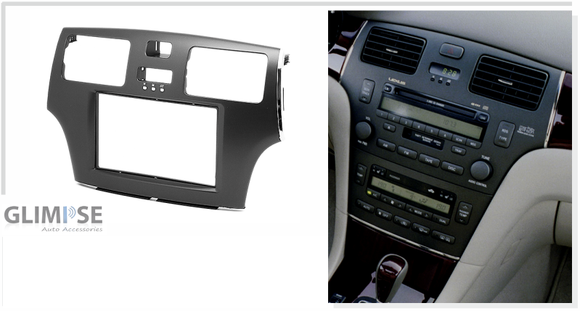 LEXUS ES 2001-2006 / TOYOTA Windom 2001-2006 (Black) Trim