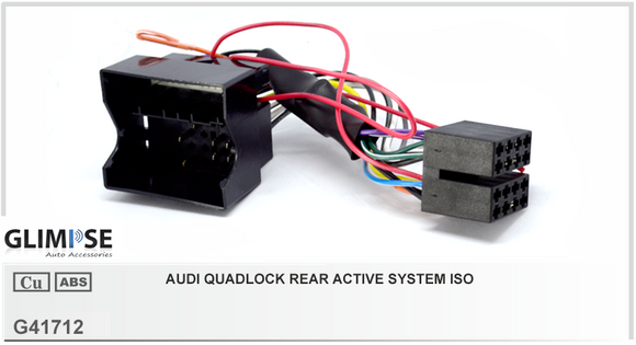 Audi Quadlock Rear Active System ISO