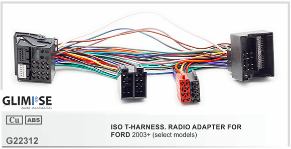 FORD 2003+ (select models) ISO T-Harness