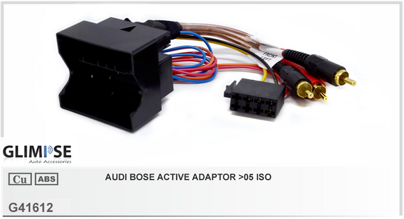 Audi Bose Active Adaptor >05 ISO
