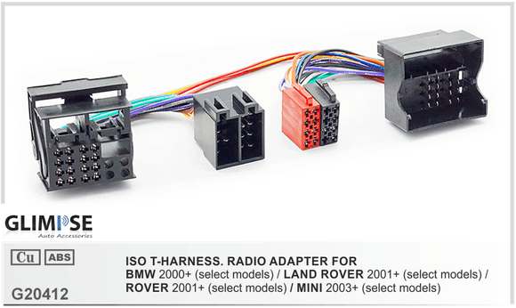 BMW 2000+ (select models) / LAND ROVER 2001+ (select models) / ROVER 2001+ (select models) / MINI 2003+ (select models) ISO T-Harness
