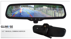 4.3 inch Manual Dimming Reverse Mirror Monitor #36 Bracket