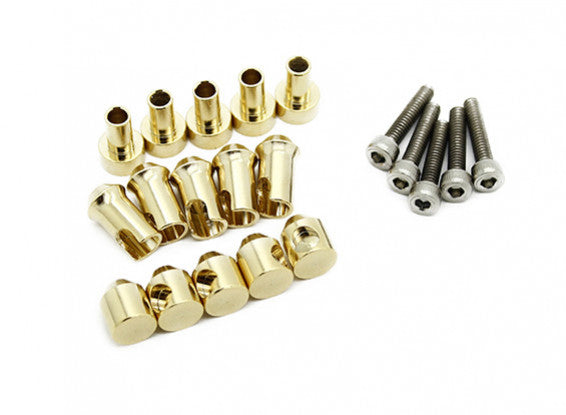 TrackStar Easy Fit ESC Connectors (5 pair / set)