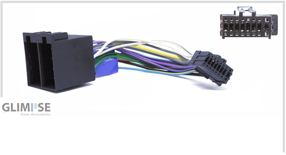 JVC 16 Pin to ISO Harness 01/17 on Headunit Loom