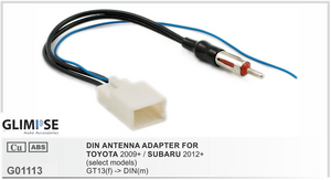 TOYOTA 2009 on (select models) / SUBARU 2012 on (select models) DIN ANTENNA