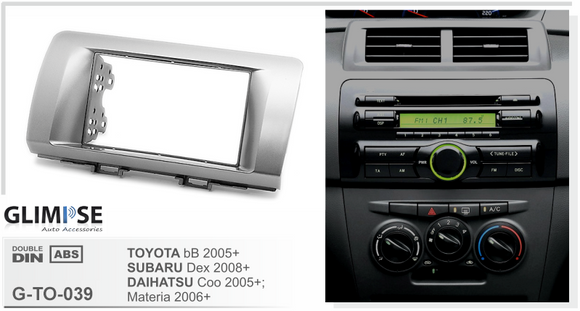 TOYOTA bB 2005 on / SUBARU Dex 2008 on / DAIHATSU Coo 2005 on Materia 2006 on Trim