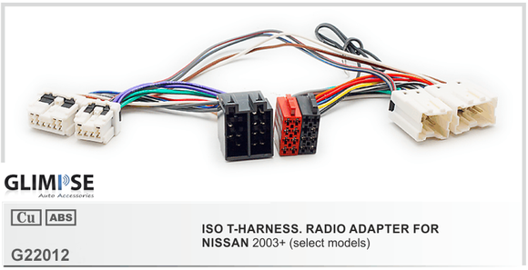 NISSAN 2003+ (select models) ISO T-Harness