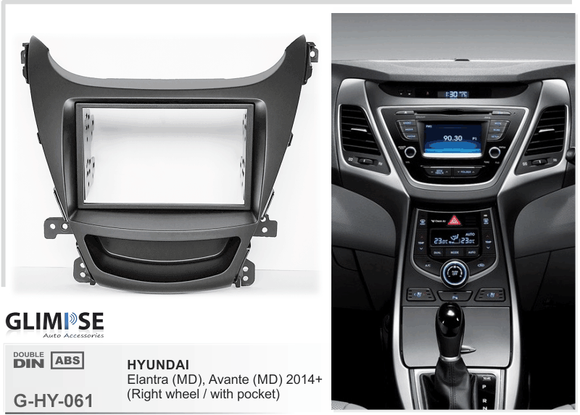 HYUNDAI Elantra (MD) Avante (MD) 2014 on Trim
