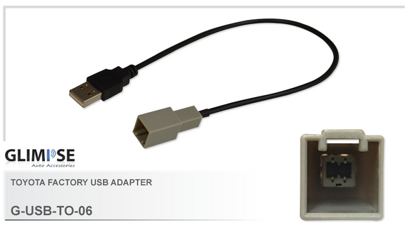 Toyota Factory USB Adapter