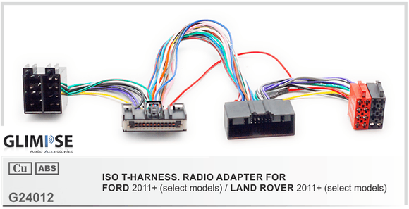 FORD 2011+ (select models) / LAND ROVER 2011+ (select models) ISO T-Harness