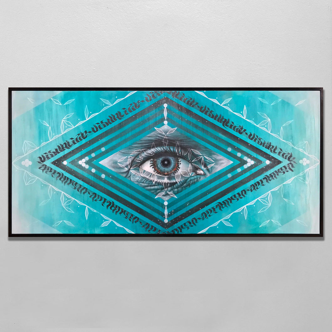 'VISUALIZE' | 60 X 48 inches