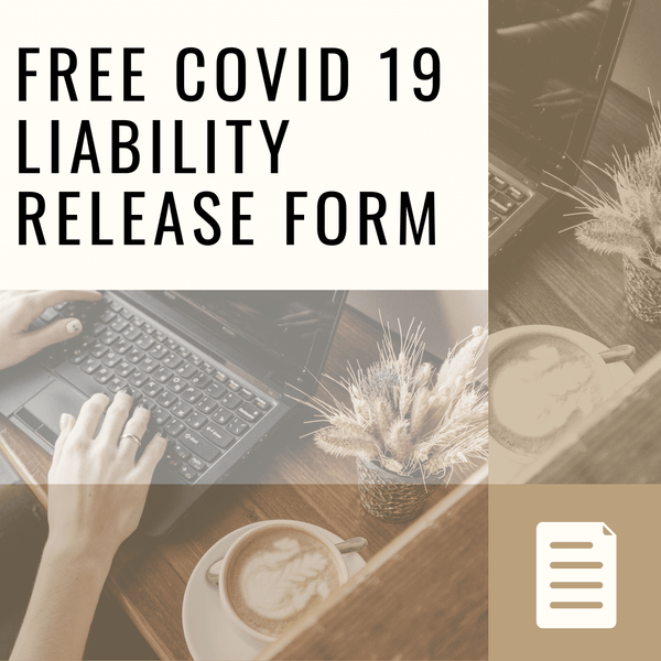 FREE Liability Release Form Covid-19 - Inkbox Artistry