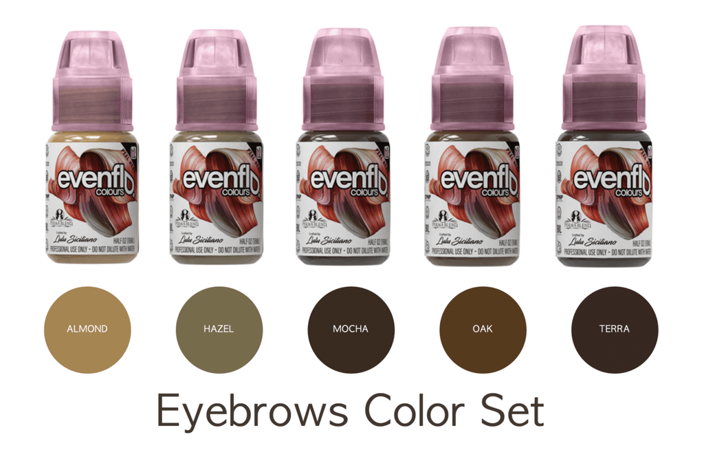 Eyebrow pigment set by Even Flo Lulu