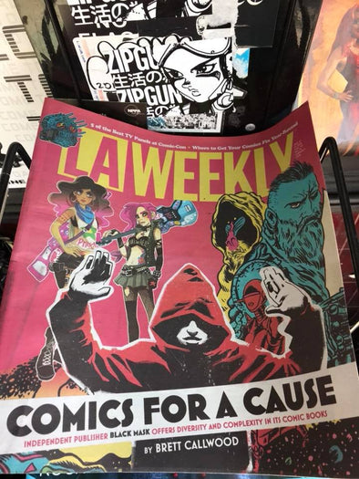 LA WEEKLY ran a pretty kewl cover story on Black Mask. Check it out!