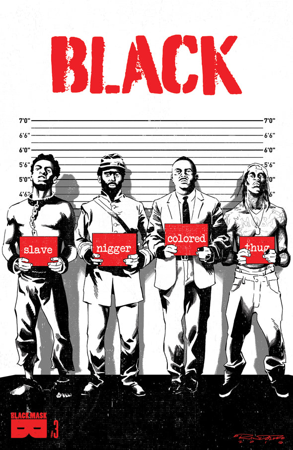 BLACK #3A [uncensored cover]