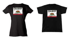 "CALEXIT ""Bear Flag"" - tee shirt"