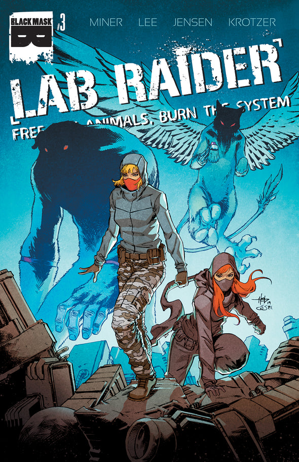 Lab Raider #3 - Limited Edition only available til 12/2/19