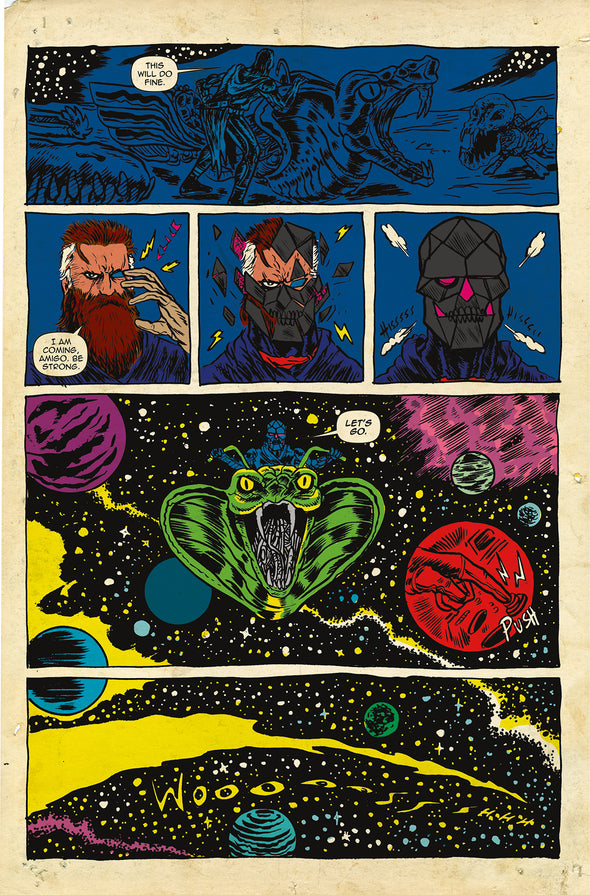 Space Riders Vortex Of Darkness #1