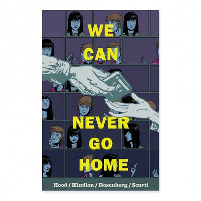 We Can Never Go Home Hardcover