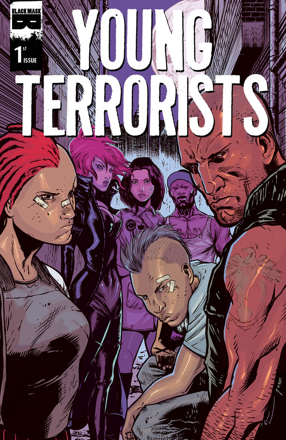 Young Terrorists #1B [First Printing]