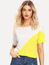 PECIJA Color Block Tee