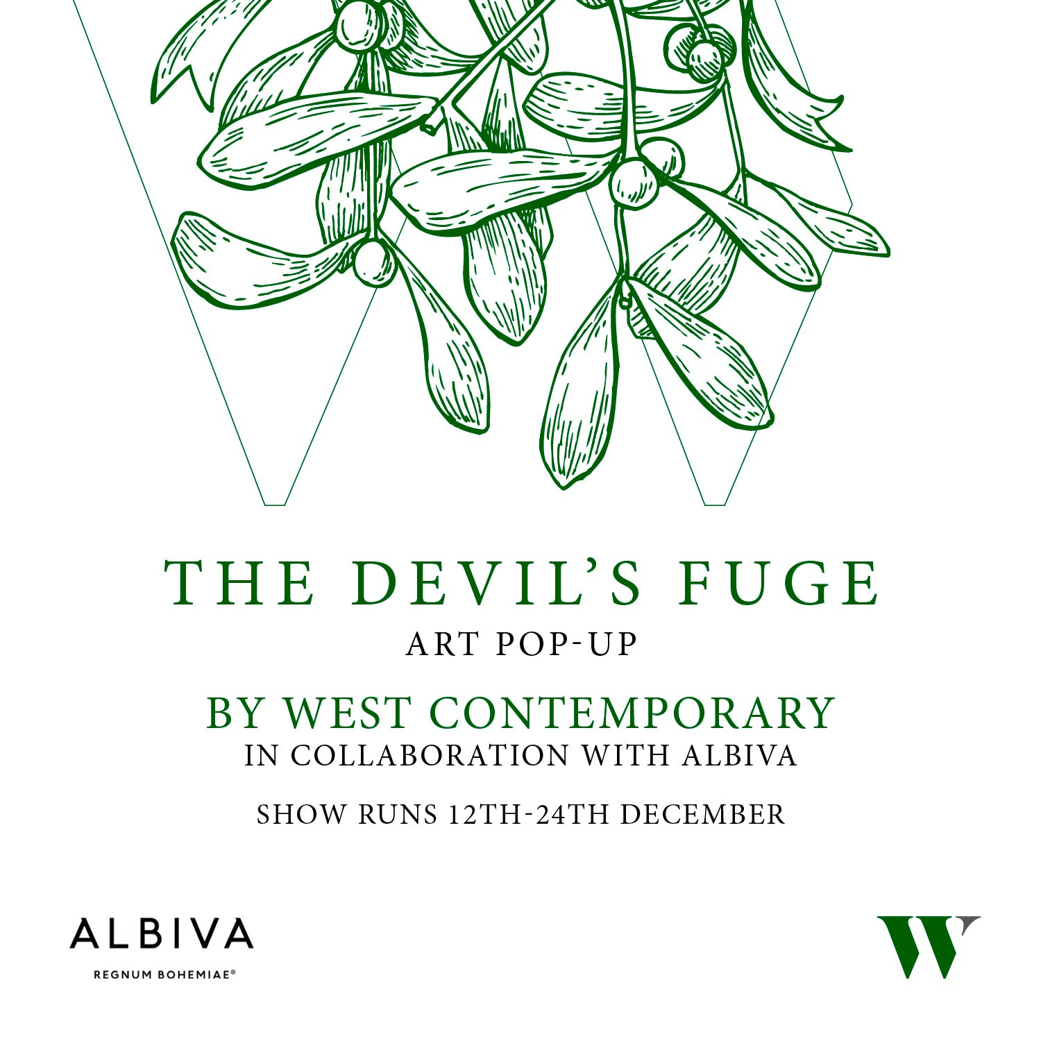 'THE DEVIL'S FUGE' ART POP-UP COLLABORATION
