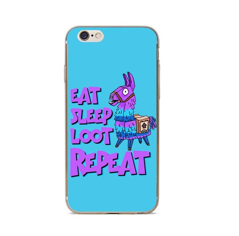 Eat Sleep Loot Repeat Phone Case