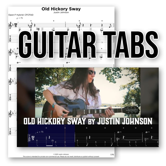 GUITAR TABLATURE -
