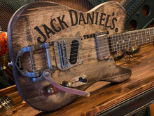 Load image into Gallery viewer, Justin Johnson Signature Whiskey Barrel Guitar w/Bigsby Tremolo