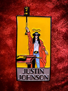"Justin Johnson ""Magician"" Lapel Pin"