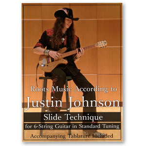 """Slide Technique for 6-String Guitar in Standard Tuning"" Guitar Lesson DVD Course"