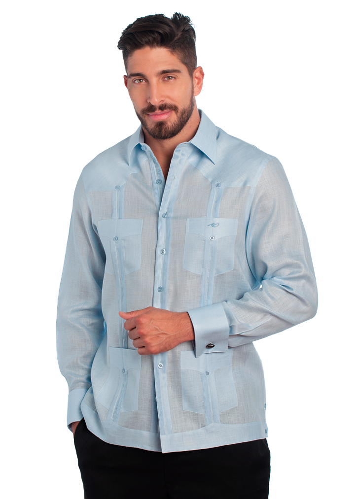 Guayabera Classic Collection French Cuffs
