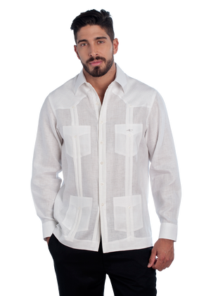 Guayabera Classic Collection Long Sleeve