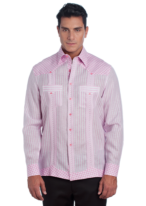Guayabera Popurri Collection Long Sleeve
