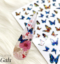 Load image into Gallery viewer, Holographic Butterfly Decal