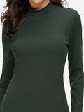 Ribbed Bodycon Sweater Dress - Mint Limit