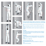 Disposable Coverall Medical Protection Taped Seam Coverall Suit - Mint Limit