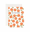 Peachy Birthday Card