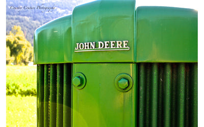 Nothing Runs Like a Deere Photograph