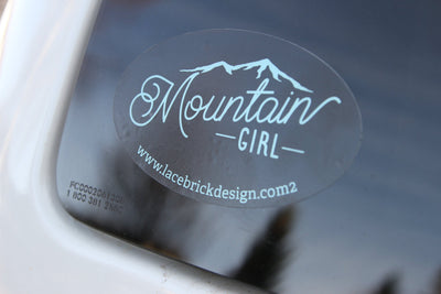 Mountain Girl Car Tattoo