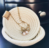 Mini Handcrafted Coiled Rope Basket