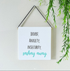 Sashay Away Wall Decor Block